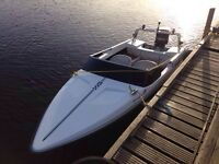 1992 fletcher black max bravo 13 with 40hp engine and extras