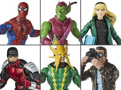 Marvel Legends Retro Spider-man Wave 1 Case NEW IN STOCK