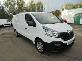 Renault Trafic Ll29dci 115 Business Van LWB DIESEL MANUAL WHITE (2015)