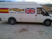 Eurofastforward/ man and van/ local removals/ long distance/ european