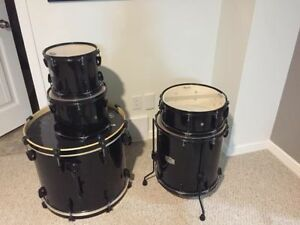 Black Pearl Export 5 Piece Kit with Sabian Cymbal Pack
