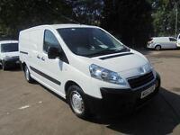 Peugeot Expert 1200 1.6 Hdi 90 H1 Van Twin Sld DIESEL MANUAL WHITE (2013)