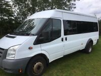 07 Ford Transit 17 Seat Minibus 2.4 Diesel RWD