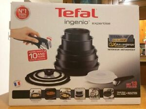 Tefal Ingenio 13 Pieces (from FRANCE) NEW NEVER USED!!