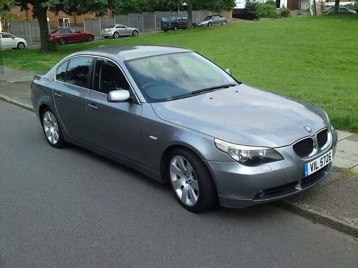 BMW 530I E60 2003 53 FSH LONG MOT SAT NAT NAV BEST COLOUR