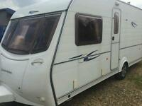 Coachman Mendip 530/4fixed bed with motor mover touring caravan