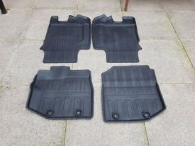 Genuine Honda jazz rubber mats