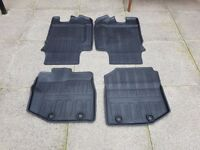 Genuine Honda jazz rubber mats
