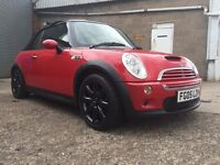 Mini Cooper S Convertible 2005 1 previous lady owner