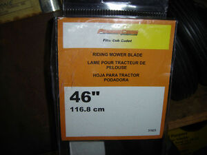 lawn tractor blades new