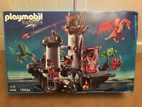 HUGE PLAYMOBIL KNIGHTS AND DRAGONS SET 5996 - BOXED AND UNUSED