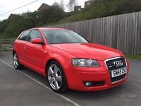 2005 55 Audi A3 S-Line 2.0 T Turbo 200bhp **DSG Paddle Shift** Same As Golf GTI not s3 mps wrx r32