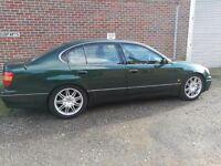 1998 Lexus GS300SE 68,000 miles, full history & new suspension