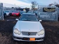 2003 Mercedes Benz C Class 1.8 C200 Kompressor**Alloy Wheels**Fog Lights