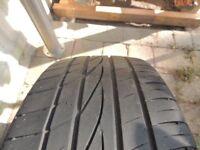 195 45 16 falken tyre - with 5mm tread - no punctures - clio / fiesta etc