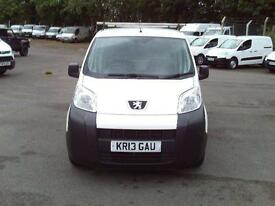 Peugeot Bipper 1.3 Hdi 75 Professional [Non Start/Stop] DIESEL MANUAL (2013)