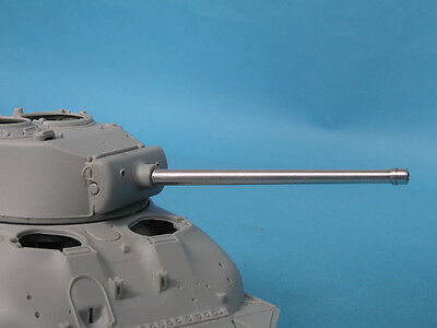LION MARC LM18004 M1A1C 76mm Barrel for Sherman w/Muzzle Protector Ring in 1:48