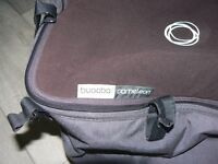 Bugaboo Cameleon gray Carrycot and black Apron