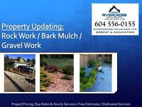 Landscaping: Bobcat & Excavation Services