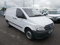 Mercedes-Benz Vito 113cdi lwb 136ps DIESEL MANUAL WHITE (2013)