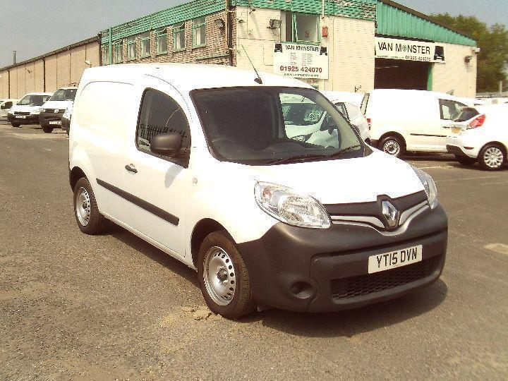Renault Kangoo ML19 1.5dci 90ps Extra, Sat Nav DIESEL MANUAL WHITE (2015)