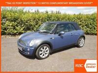 2005 Mini Mini 1.6 Cooper CABRIOLET CONVERTIBLE ONLY 43,000 MILES LOTS OF EXTRAS