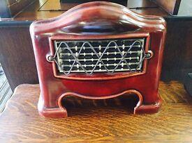Lovely Art Deco Enamel Electric Heater