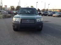 2006 Subaru Forester X,AWD,AUTO,safety e/t+24month warranty incl