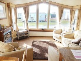 BEAUTIFUL 6 BERTH STATIC CARAVAN FOR SALE AT SANDY BAY HOLIDAY PARK,STUNNING PARK,AMAZING FACILITIES