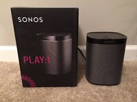 PERFECT CONDITION SONOS PLAY 1 (Like New in box)
