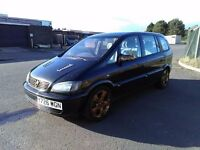 looking to Swap for a Small van, Zafira 1.6 16v, 7 seater