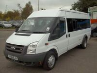 Minibus Hire with Driver 4, 8, 16 seats cheap rates & day tours