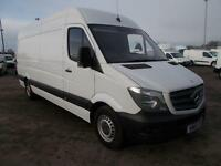 Mercedes-Benz Sprinter 3.5T High Roof Van DIESEL MANUAL WHITE (2015)