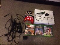 xbox one s white with games and extras