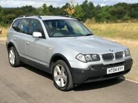 AUTOMATIC BMW X3 3.0 i Sport 5dr, 3 Months Warranty, Full Service History