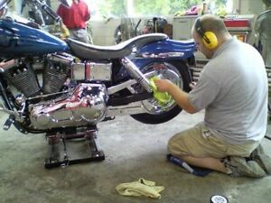 RIDING SEASON IS ALMOST OVER —BOOK A TIME TO DETAIL YOUR BIKE