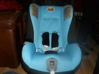 Britax First Class Plus car seat upto 4 years hardly used in excellent condition