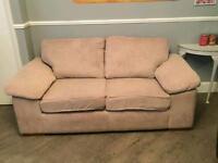 CSL 3 seater cream sofa