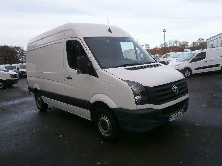 Volkswagen Crafter CR35 MWB 2.0 TDI 109ps High Roof Van DIESEL MANUAL (2013)