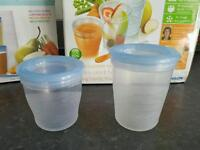Avent baby food pots
