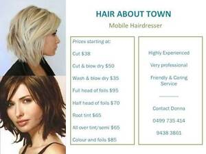 MOBILE HAIRDRESSER Bicton Melville Area Preview
