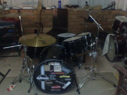 DDRUM DIABLO PLAYER KIT + PAISTE ALPHA SWISS CYMBALS +MORE St Marys Penrith Area Preview