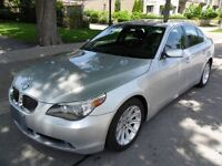 2007 BMW 530i LOW LOW KMS, 85000, NO ACCIDENTS, CERTIFIED