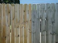 Fence cleaning stain & seal 13% off