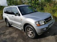 L@@K Mitsubishi Pajero 3.2 DiD **Diesel**4x4**Automatic**7 Seater**55000 MILES**MOT MAY 2018