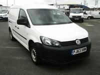 Volkswagen Caddy C20 TDI 102PS VAN AIR CON DIESEL MANUAL WHITE (2014)