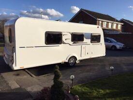 Touring caravan - Bailey Remini 2017 excellent condition