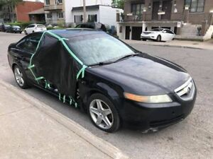 2004 Acura TL PART OUT - Blown tranny