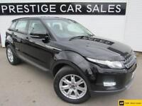 2012 Land Rover Range Rover Evoque 2.2 ED4 Pure Tech 2WD 5dr Diesel black Manual