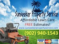 FREE Lawn Aeration with Seasonal Mowing Package!